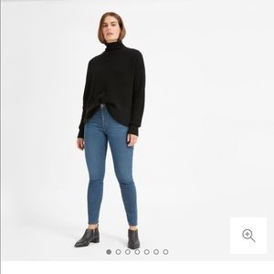 Everlane Authentic Stretch Mid Rise Ankle Jean